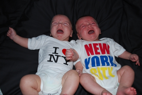 Ummm, I guess they do *not* love New York - sorry Aunt Kristy!
