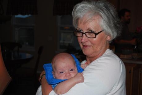 Grandma M with Weston