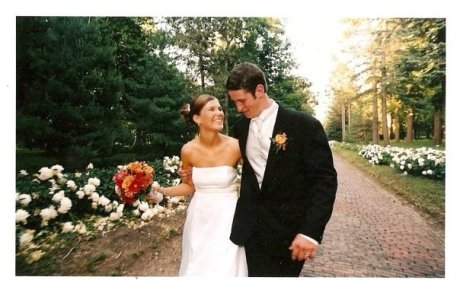 Wasn't she a beautiful bride???