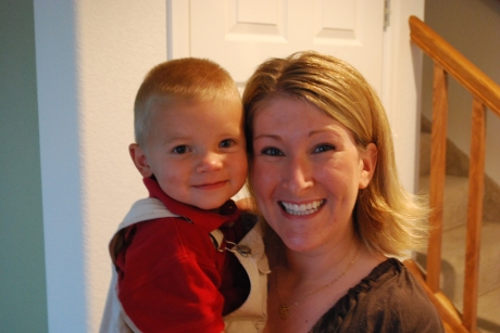 My favorite nephew, Asher, and I