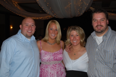 (Our best man) Josh, Peyton, Kerry, and I