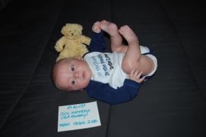 Max - 6 months old (16 weeks adjusted)