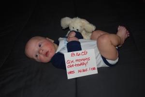 Wes - 6 months old (16 weeks gestational)