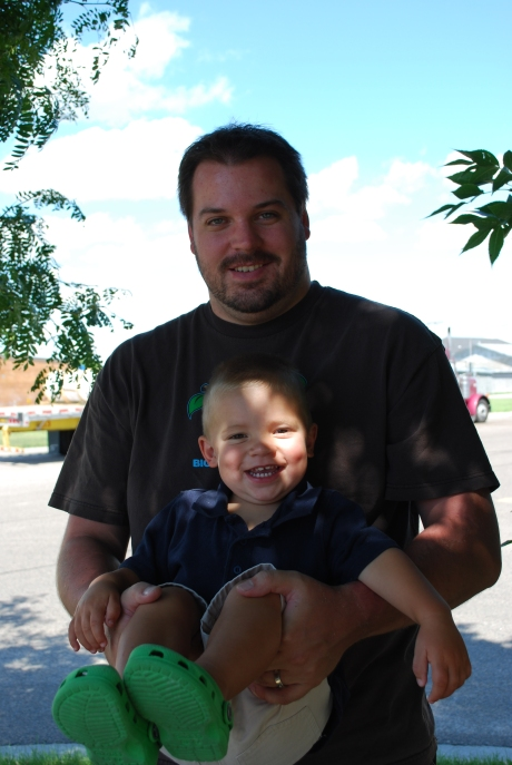 Asher with Uncle Jeff